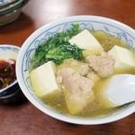 大衆割烹 三州屋 - 鳥豆腐¥480