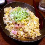 串や とりけん - ガーリック炒飯¥480 2018.4.24