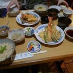 84919715 - 天ぷら定食1080円