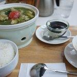 一茶一坐 - ほうれん草と鶏もも肉の健康BAOセット