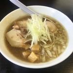 煮干中華そば のじじR - 煮干中華そばNORMAL750円+煮卵100円