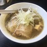 煮干中華そば のじじR - 煮干中華そばHARD800円