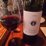 オステリアバルまるうめ - 赤ワインボトル(LE CORTI 2014 CHIANTI CLASSICO)5000円