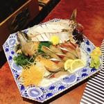 いけ洲 博多屋 - ★8.5長崎ハーブ鯖のお造り