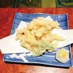 いけ洲 博多屋 - ★7げその天ぷら