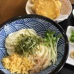 84924861 - 香川スタイル醤油550円+天ぷら