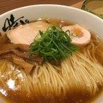 中華蕎麦 時雨 - 中華蕎麦780円+大盛100円