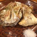 蜃氣楼 - 鯛かま塩焼き