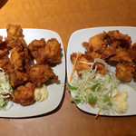南国亭 - 鶏の唐揚げ