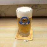 自由軒 - 生ビール
