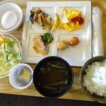 桑名シティホテル - 朝食①