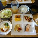 桑名シティホテル - 朝食②