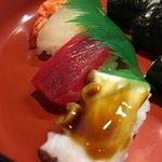 右京の里 竹生 - 料理写真:ランチのにぎり