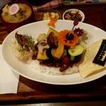 84934896 - イベリコ豚と煮込み野菜のスパイシーチーズカレー膳