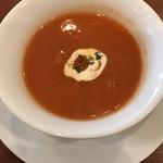 ビストロ ターボー - 人参スープ