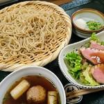 熊魚菴 たん熊北店 - 鴨汁蕎麦
