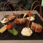 夜景とフォンデュ Bolero - ☆国産豚ロースのグリル和風味噌ソース(●^o^●)☆