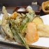 手打蕎麦 しずおか - 料理写真:ランチの天ぷらセットの天ぷら