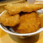 とんかつ太郎 - かつ丼5枚