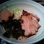 麺爺 あぶら - 油そば(黒)before