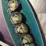 千鳥寿司 - アジの大葉巻き