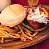 シティホール 529 ハンバーガー - 料理写真:529ハンバーガーSET(税抜890円)