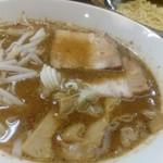 日乃屋 - カミナリつけ麺。旨い。