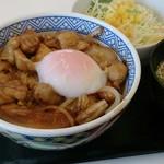 吉野家 八幡久保田店 - 鶏すき丼ちょいアップ
