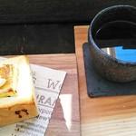 みどりや - 珈琲・みどりやレギュラー(400円)、モーニング・あんバタートースト