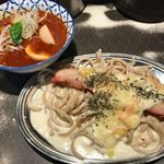 麺屋武蔵 巖虎 - 「ラクレッドカレーつけ麺」1,200円