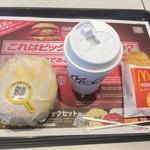 マクドナルド - チキンクリスプマフィンのバリューセット 350円