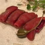 84948042 - 会津産馬肉のカルパッチョ