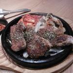 韓美膳 - サムギョプサルステーキ