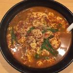 辛麺 一門 - 辛麺(辛さ5)800円