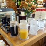 つばめグリル - 朝食ドリンクバー