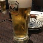 まぐろんち - 生ビール100円