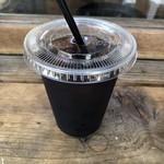 ヒグマドーナッツ - アイスコーヒー