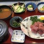 木器亭 - 中トロマグロの切り落とし定食¥1,296