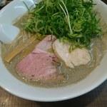 麺's Natural - 濃厚煮干しSOBA850円+九条ネギ(サ券)