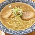 長州ラーメン万龍軒 - 長州らー麺640円+味玉100円
