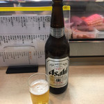 春駒 支店 - 大瓶ビール¥650