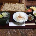 いし田 - 天ざる定食1700円