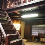 近江屋 - 2階は生活空間の様子。