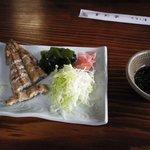 近江屋 - 料理写真:白焼き。