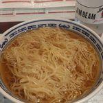 粥麺専家 香港バル213 - 鮮蝦雲呑麵