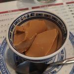 粥麺専家 香港バル213 - コーヒー杏仁豆腐