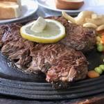 ビッグハート - 特製ステーキ