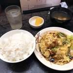 名阪上野ドライブイン おすみ - ホルモン定食 980円