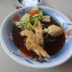 食事処マルタ活魚 - 刺身定食に付いてきた煮付け