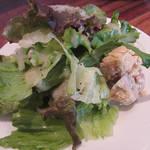 84967272 - 【ランチ】 秋鮭とブロッコリーのクリームパスタ